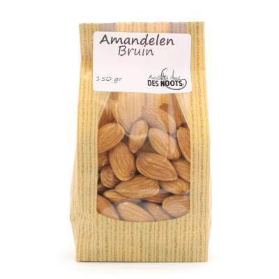 3069 - Des Noots amandelen bruin 150 gram