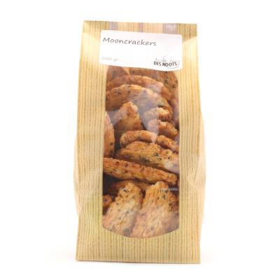 3075 - Des Noots moon crackers 200 gram
