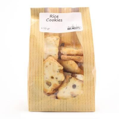 3080 - Des Noots rice cookies 170 gram