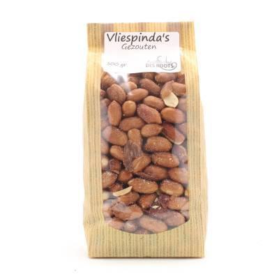 3084 - Des Noots vliespinda`s gezouten 300 gram