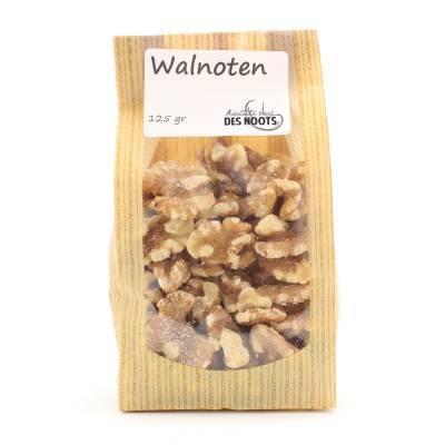 3096 - Des Noots walnoten gepeld 125 gram