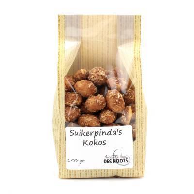3127 - Des Noots Suikerpinda´s Kokos 150 gram