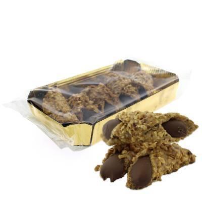9603 - Dolciaria Cerasani krokante cannoli hazelnoot gold 200 gram