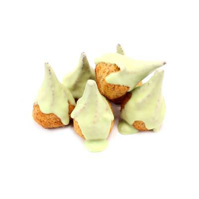 9610 - Dolciaria Cerasani vijgenkoekje groene choco 2000 gram