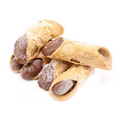 9611 - Dolciaria Cerasani cannoli hazelnoot 1500 gram