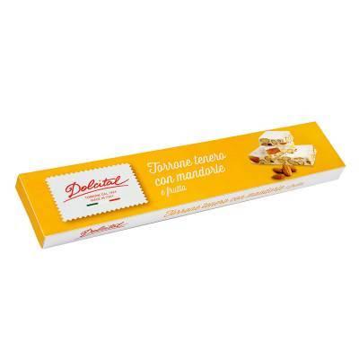 2021 - Dolcital torrone mandorle frutta 150 gram