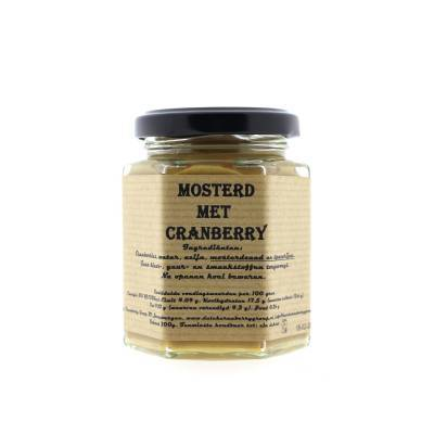8949 - Dutch Cranberry Group cranberry mosterd 200 ml