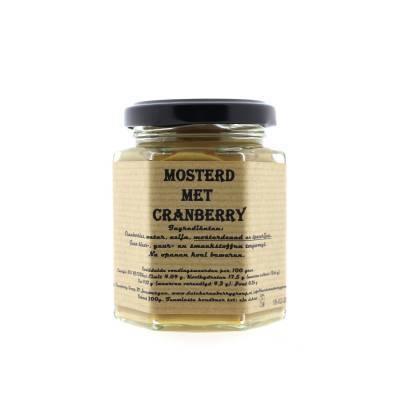 8949 - Dutch Cranberry Group cranberry mosterd 200 ml