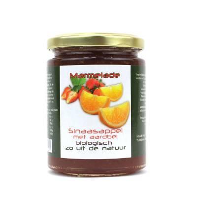 8952 - Dutch Cranberry Group sinaas aardbei marmelade 360 ml