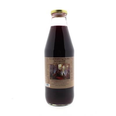 9005 - Dutch Cranberry Group cranberry lichtgezoet sap 750 ml