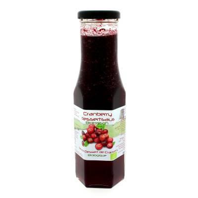 9015 - Dutch Cranberry Group cranberry dessertsaus 290 ml
