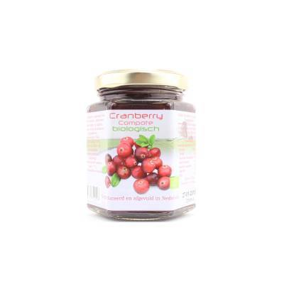9021 - Dutch Cranberry Group cranberry compote 220 ml