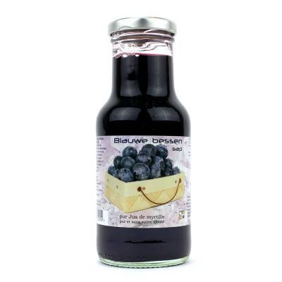 9023 - Dutch Cranberry Group blauwe bessensap 250 ml