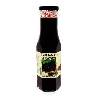 9026 - Dutch Cranberry Group cranberry - bramen desserts 290 ml