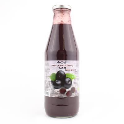 9056 - Dutch Cranberry Group acai met cranberry sap 750 ml