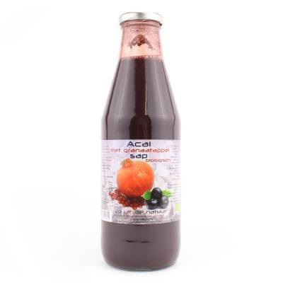 9057 - Dutch Cranberry Group acai granaatappel sap 750 ml