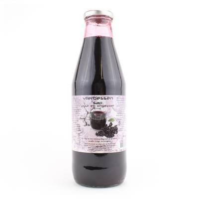 9063 - Dutch Cranberry Group vlierbessensap 750 ml