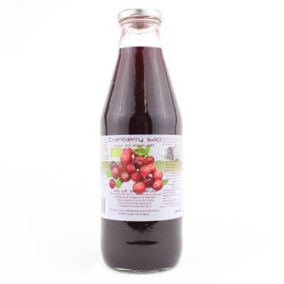 9075 - Dutch Cranberry Group cranberrysap ongezoet 750 ml
