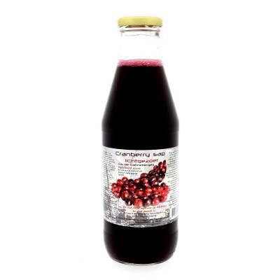 9076 - Dutch Cranberry Group cranberrysap lichtgezoet 750 ml