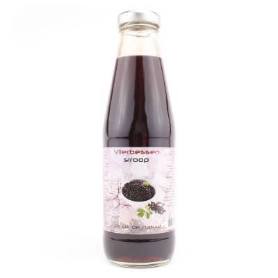 9081 - Dutch Cranberry Group vlierbessensiroop 500 ml