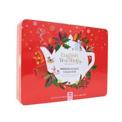 2121 - English Tea Shop premium hc red gift tin 36 tb
