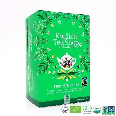 9962 - English Tea Shop pure green tea 20 tb