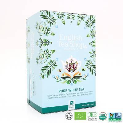 9963 - English Tea Shop pure white tea 20 tb