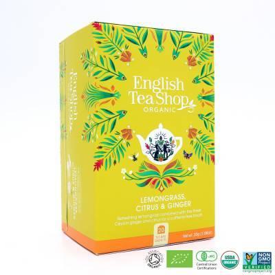 9974 - English Tea Shop lemongrass citrus & ginger 20 tb