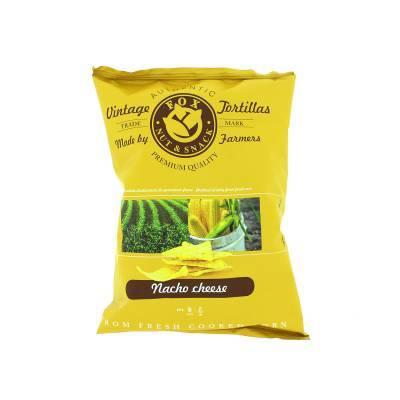 9932 - Fox Italia tortilla chips nacho cheese 40 gr
