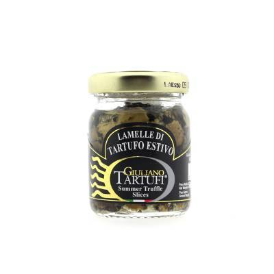 131315 - Giuliano Tartufi slices summer truffel op olie 30 gram