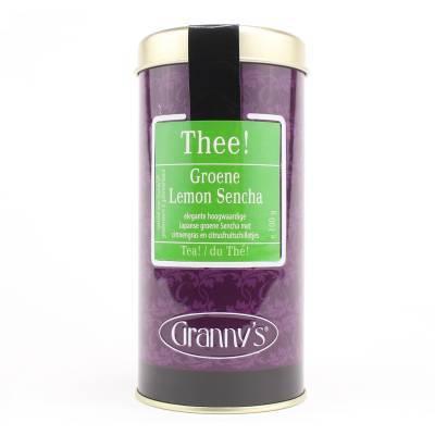 1712 - Granny's groene thee lemon sencha 100 gram