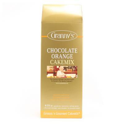 1721 - Granny's chocolate orange cakemix 250 gram