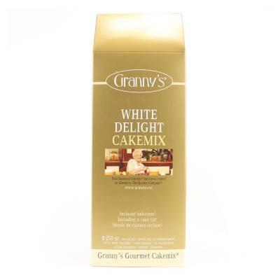 1724 - Granny's white delight cakemix 250 gram