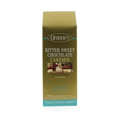 1734 - Granny's bitter sweet chocolate cake 250 gram