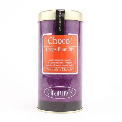 1735 - Granny's chocodrups puur 100 gram
