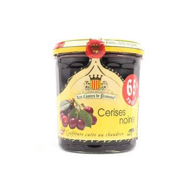 4626 - Les Comtes de Provence zwarte kersen 340 gram