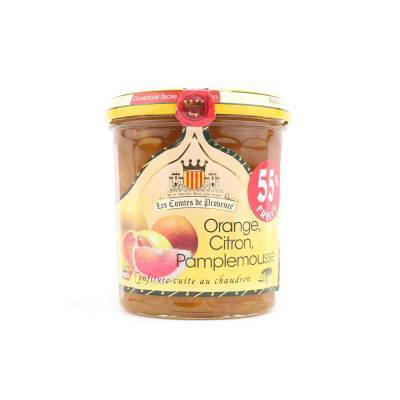 4631 - Les Comtes de Provence orange lemon grapefruit 340 gram