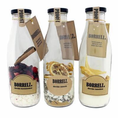 38010 - Borrelz assortimentdoos likeur 3 smaken ml