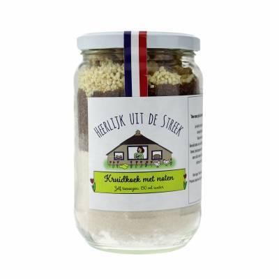 10001 - Heerlijk uit de Streek kruidkoek met noten 500 gram