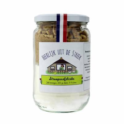 10005 - Heerlijk uit de Streek stroopwafelcake 450 gram