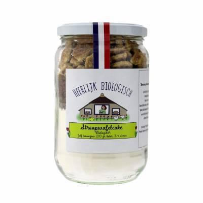 10028 - Heerlijk uit de Streek stroopwafelcake BIO 450 gram