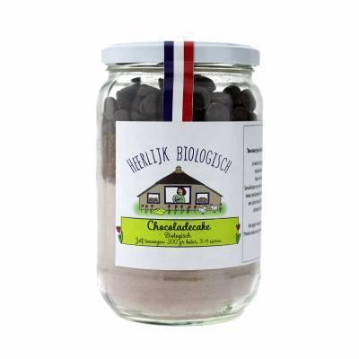 10029 - Heerlijk uit de Streek chocoladecake BIO 450 gram