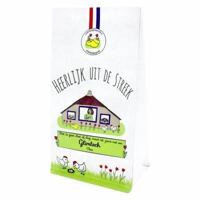 10023 - Heerlijk uit de Streek thee glimlach 75 gram