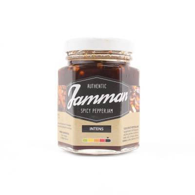 19364 - Jamman spicy pepperjam zwart 100 ml