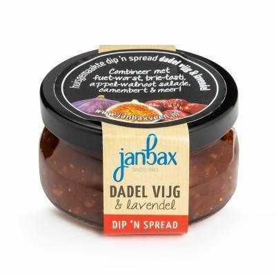 1863 - Jan Bax Dip'n Spread Dadel & Vijg met lavendel 140 gram