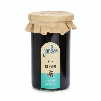 3445 - Jan Bax confituren bosbessen 370 gram