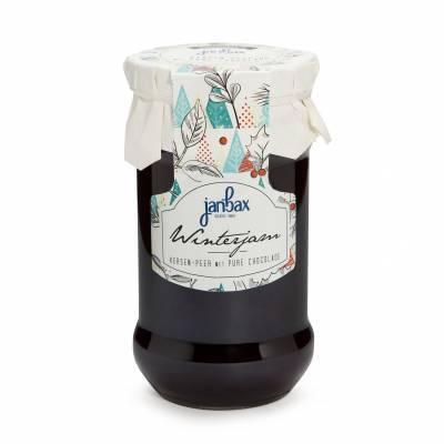 4341 - Jan Bax winterconfituur kers-peer met pure choco 370 gram