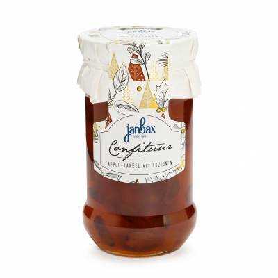 3429 - Jan Bax winterjam appel rozijn kaneel 370 gram