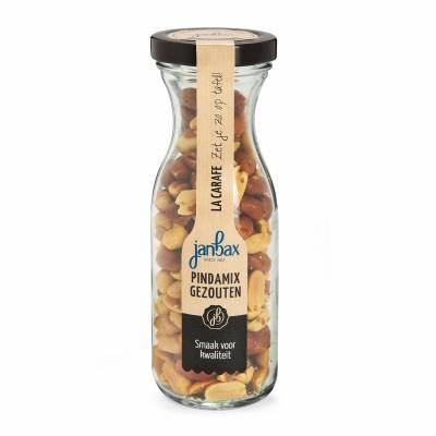 4279 - Jan Bax borrelconcept karaf pindamix gezout 160 gram