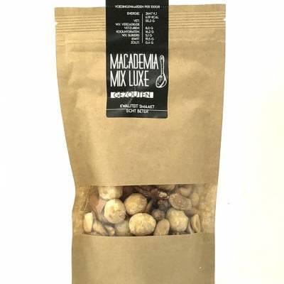 4031 - Jan Bax macadamia mix luxe gezouten 130 gram